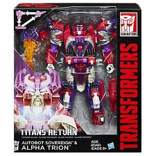 Transformers Titans Return Autobot Sovereign & Alpha Trion Generations
