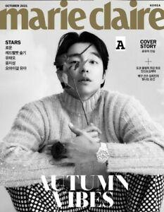 Marie Claire Korea 2021 October Gong Yoo Cover Whole Magazine