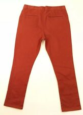 Humor Maroon Cotton Blend Chinos W34 L28