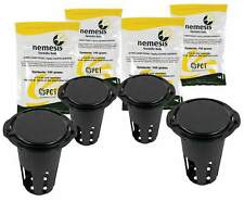 NEMESIS Termite Inground Stations x4 & Baits 100g x4 PCT Chlorfluazuron DIY