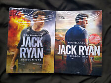 Jack Ryan Seasons 1-2 DVD Bundle Brand New!