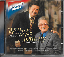 WILLY ALBERTI & JOHNNY JORDAAN - Hollands Glorie CD Album 18TR (CNR) 2001