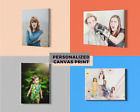 Your Photo on Personalised Canvas Print A1 A2 A3 A4 and Square Ready to Hang