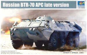 Trumpeter 01591 1:35th Scale Russian BTR-70 APC late version