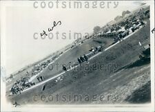 1923 Vintage Auto Show Pittsburg California Press Photo