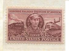 US 993 Railroad Engineers America Casey Jones 3c single MNH 1950