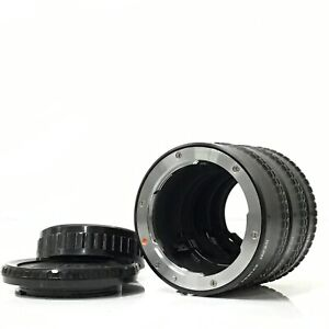 Asahi Pentax K mount extension tube ring Set 1 2 3 from Japan - Near Mint [TK]