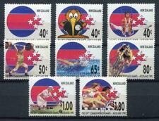 34630) New Zealand MNH Neu 1989 Commonwealth Games 8v