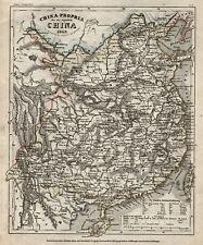China Original Stahlstich Landkarte Bibl. Inst. 1850