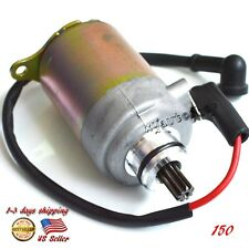 Motorcycle Electric Starter Motor For ATV Go-Cart Scooter GY6 150cc 125cc Engine