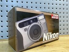 Nikon Zoom 800 35mm Point & Shoot Film Camera Rarely Used. Mint! Fully Tested!