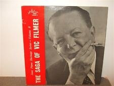 Vic Filmer . The Saga Of... Jazz Piano . LP