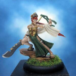 Painted Wyrd Miniature Misaki Warmaiden