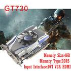 NVIDIA GeForce 4GB GT730 GDDR5 128Bit PCI Express Game Video Card Graphics Card