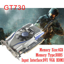 NVIDIA GeForce GT730 4GB GDDR5 128Bit PCI Express Game Video Card Graphics Card