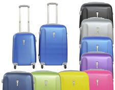 Juego o set de 2 maletas liso 4 ruedas varios colores maleta de cabina y mediana
