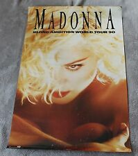 Madonna Blonde Ambition World Tour 1990 OSP Winterland Music Poster #8080 G C4