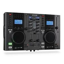 SKYTEC STX-95 CONTROLEUR DJ CONSOLE DOUBLE LECTEUR CD MIXAGE SCRATCH CUE USB MP3