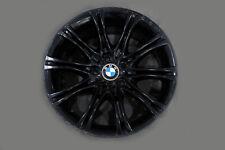 "*BMW 5 Series E60 E61 Black Matt Alloy Wheel Rim 18"" ET:20 8J M Double Spoke 135"