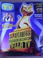 TV Sorrisi e Canzoni n°18 1999 Speciale Vasco Rossi - Nino D'Angelo [D36]