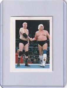 Dusty Rhodes Dick Murdoch  1982 Monthly DX pro-Wrestling  BBM Hand cut Sticker
