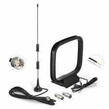 FM Antenna Magnetic Radio Aerial &AM Loop Antenna & PAL for Pioneer Onkyo Yamaha