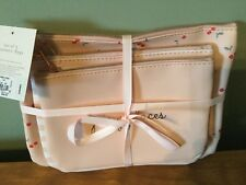 Set of 3 cosmetic bags NWT Make-up jewelry bags Womens fashion Accessory