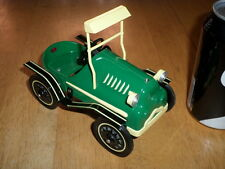 HALLMARK CARDS - 1964 GARTON -TIN LIZZIE, METAL CONSTRUCTION KIDDIE PEDDLE CAR,