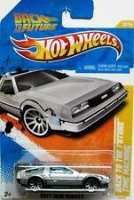 Hot Wheels BACK TO THE FUTURE TIME MACHINE Delorean REGRESO AL FUTURO