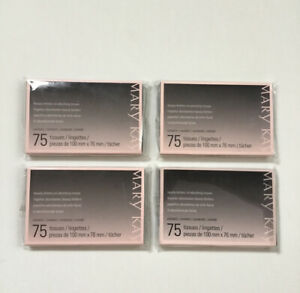 Lot of 4 Mary Kay Beauty Blotters Oil Absorbing Tissue 75 Sheets Brand New