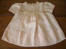 Vintage antique PINK baby infant girl dress (BC21)