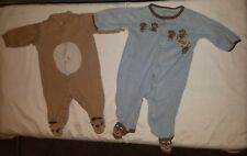 Baby Boy Footed Pajamas