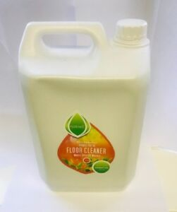 4 x 5 Litre Floor Cleaner Concentrate.Essential Oils,Citrus,332washes, Natrell