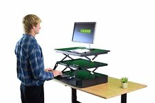 Electric Standing Desk Converter adjustable height ergonomic motorized riser