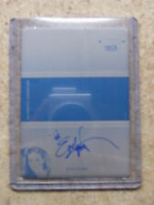 2011 Leaf Razor Poker Black Stacked Deck Printing Plate Autograph EVELYN NG 1/1