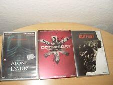 Outpost,Alone in the Dark(Director's Cut), Doomsday (Tag der Rache steel Box)DVD