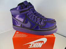 NIKE Vandal High Supreme QS Purple Basketball Shoes  Men's Sz 11 US New In Box
