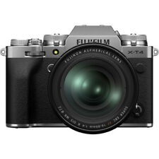 Fuji FUJIFILM X-T4 Mirrorless Digital Camera with 16-80mm Lens (Silver)