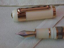 Tibaldi 90th Anniversary Divina Ebur et Aurum Roseum Limited E 618 Fountain Pen