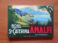 HOTEL SANTA CATERINA - AMALFI COAST POSTCARD - HOTEL TO THE STARS - BRAND NEW