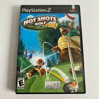 Hot Shots Golf Fore! PS2 (Sony PlayStation 2, 2004) Complete Tested & Works