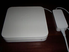 Apple AirPort Extreme Base Station model A1143 with power adapter