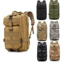 30L Military Tactical Backpack Outdoor Rucksack Bag Waterproof Shoulders Bag