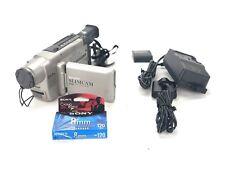 Sharp Slimcam Vl-Se10U 8mm Video 8 Camcorder Video Camera Tape Recorder- Read