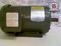 Baldor Motor M1720T Frame 145T 1HP 460 Volts 1725/1140 RPM 3 Phase 1.9/1A 60Hz