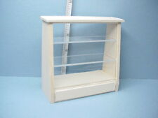 Dollhouse Miniature Bakery/Deli Case #1700 Handcrafted Unpainted Basswood 1/12th