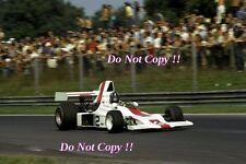 Graham Hill Embassy Racing Shadow DN1 Italian Grand Prix 1973 Photograph 2