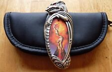 Pocket Knife + Pouch Franklin Mint The Mistress of Fire Knightstone Collections