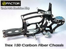 Heli Factor Align Trex 150 Silver Carbon And 7075 Alloy Aluminum Frame HFA15001S