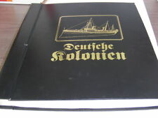 GERMAN COLONIES, Wonderful Stamp Collection in a specialized album